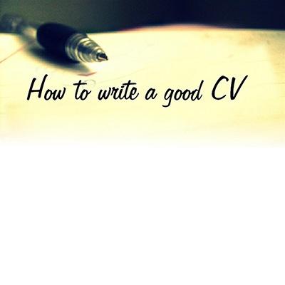 Kako napisati biografiju - CV